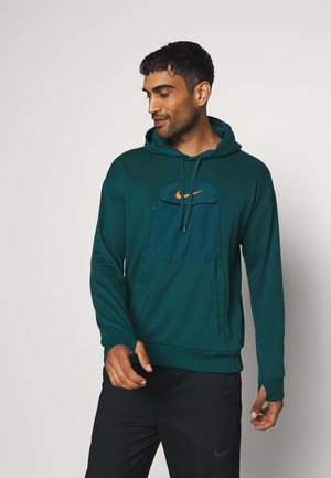 HOODIE - Hoodie - atomic teal/black/electro orange