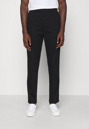 WILLIAM COTTON TROUSER - Pantalon classique - black