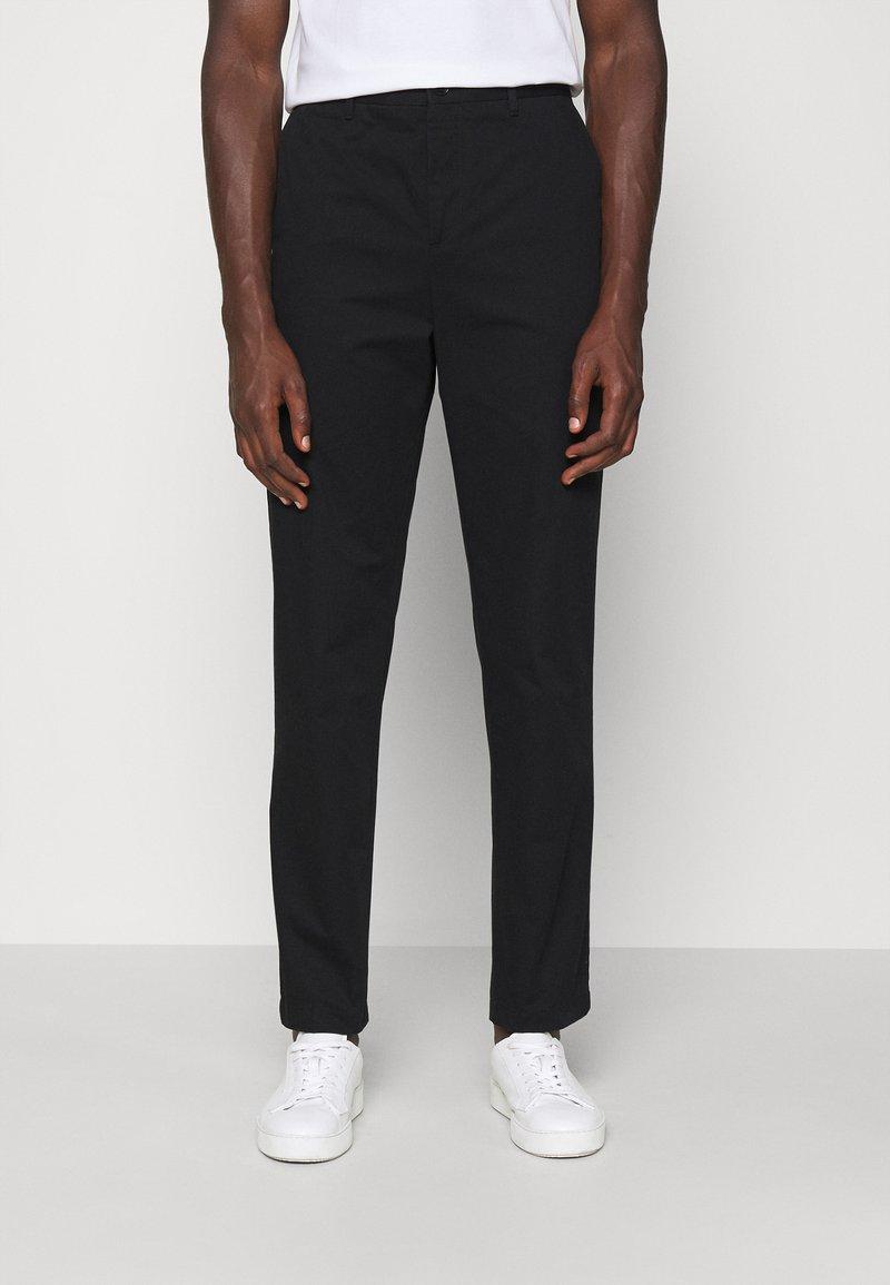 Filippa K - WILLIAM COTTON TROUSER - Trousers - black