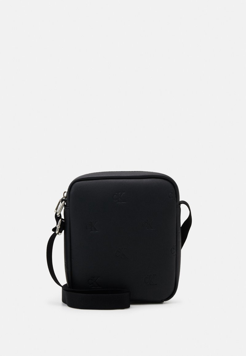 Calvin Klein Jeans - MICRO FLAT PACK - Across body bag - black