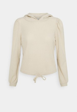 ONLCORTNEY HOOD - Long sleeved top - pumice stone