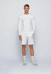 BOSS - SALBO ICONIC - Sweatshirt - white - 1
