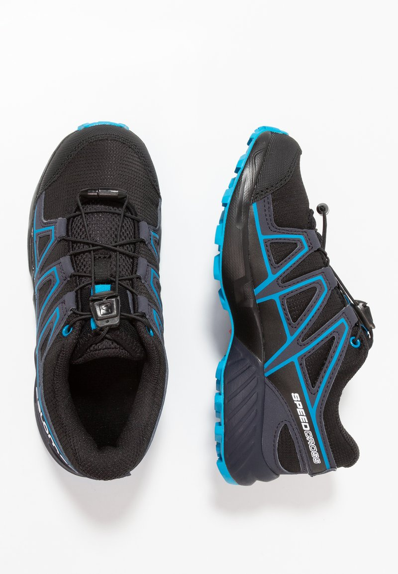 Salomon - SPEEDCROSS - Zapatillas de senderismo - black/graphite/hawaiian