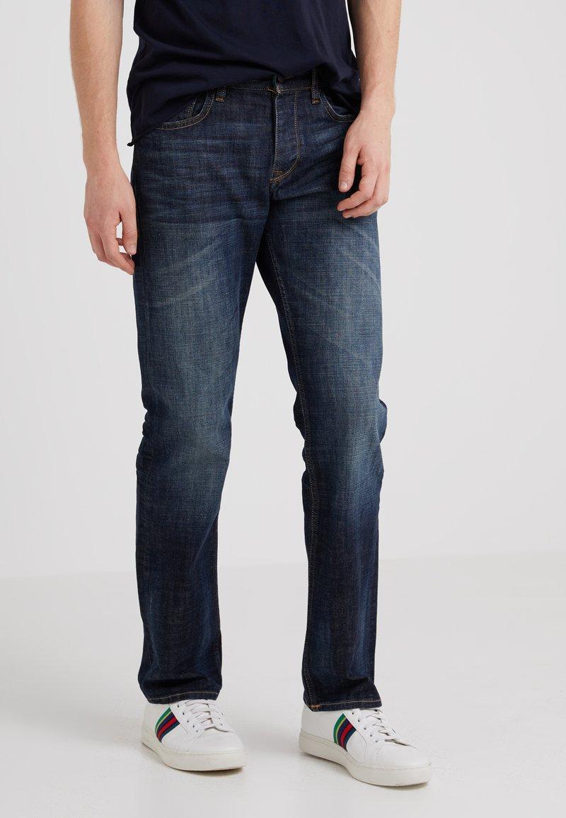 BOSS CASUAL - Straight leg jeans - navy