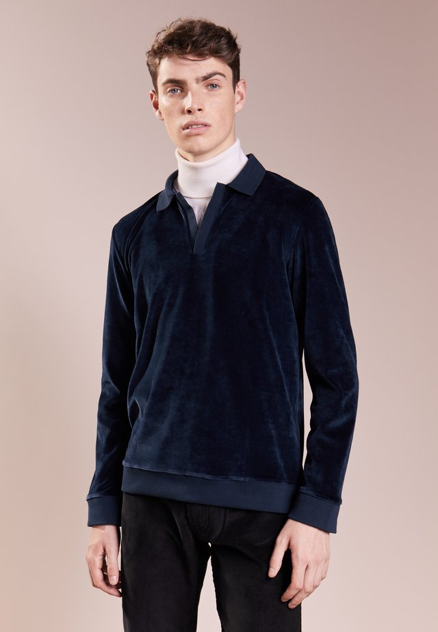 TERRYCLOTH - Sweater - navy blue