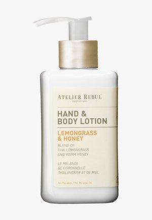 HAND & BODY LOTION LEMONGRASS & HONEY 250ML - Moisturiser - -