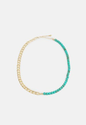 PCINNA NECKLACE - Halsband - gold-colour/edgreen