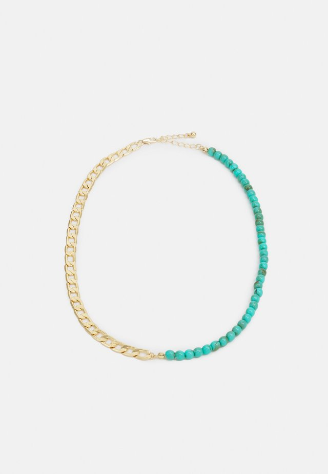 PCINNA NECKLACE - Necklace - gold-colour/edgreen