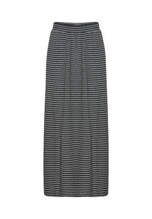 IHMOTO - A-line skirt - small stripe black