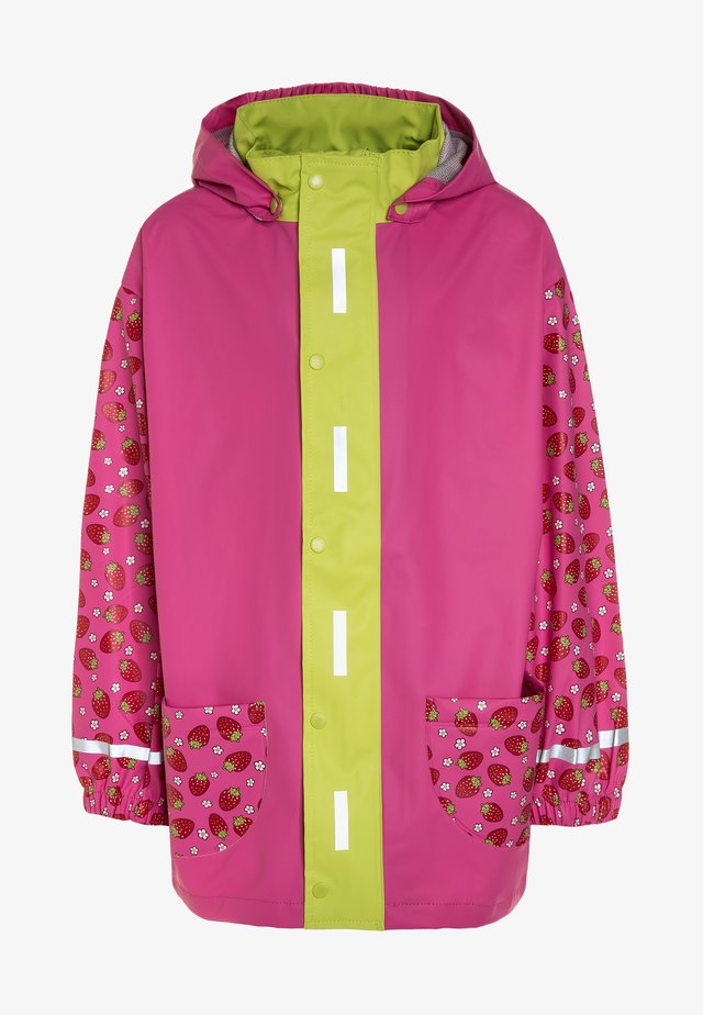 Regnjakke / vandafvisende jakker - pink