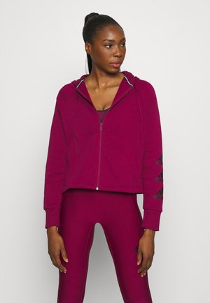STACKED  - Zip-up hoodie - berry