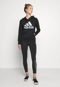 adidas Performance - Hoodie - black - 1