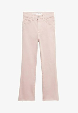 Bootcut jeans - pink