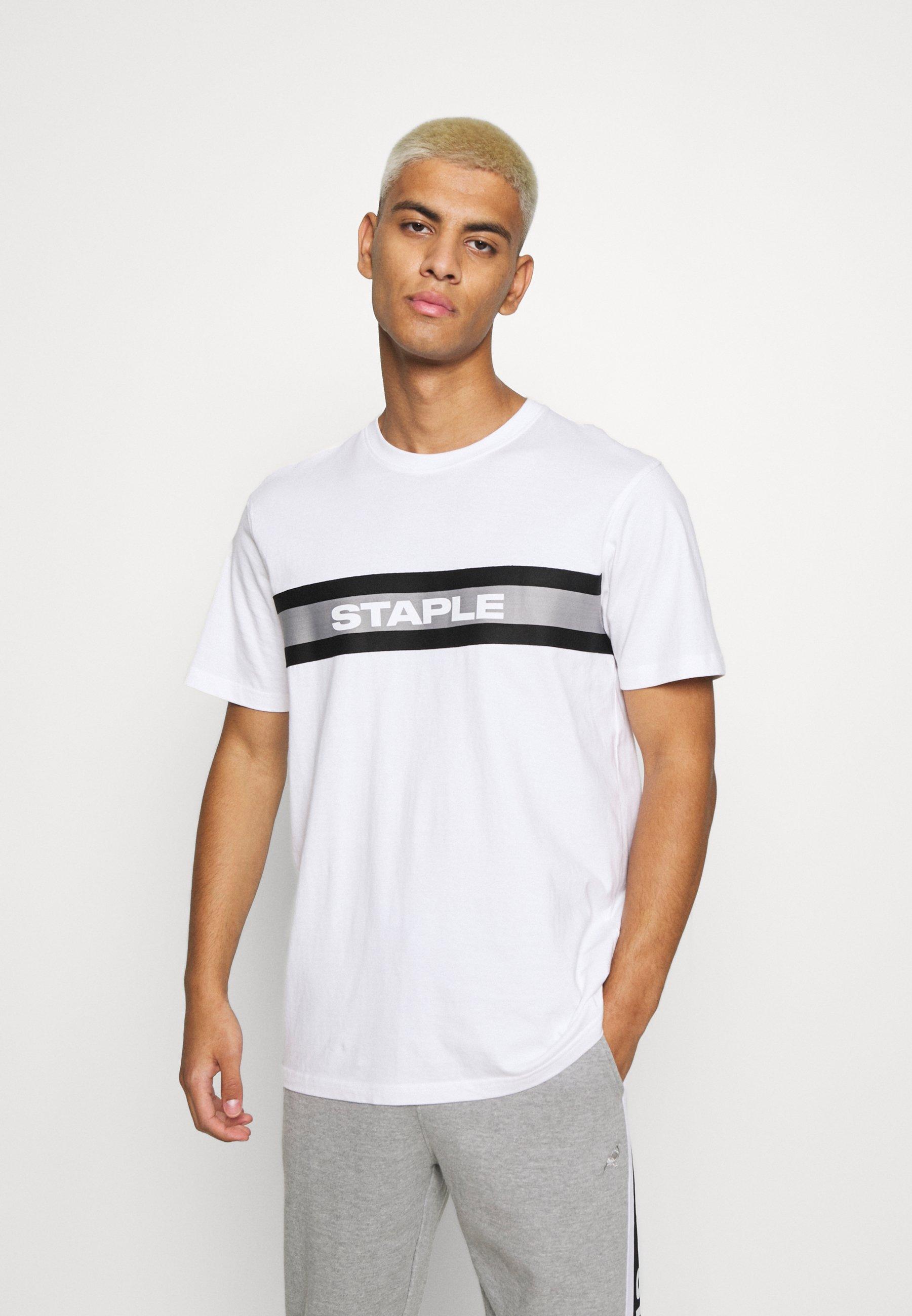 Men TAPE LOGO UNISEX - Print T-shirt