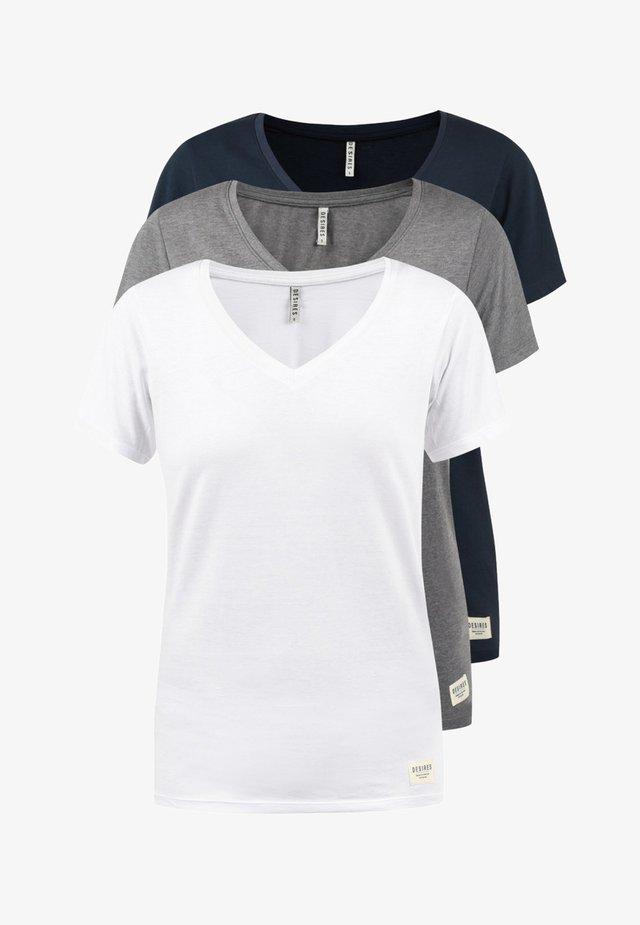 3ER PACK - T-shirts basic - white