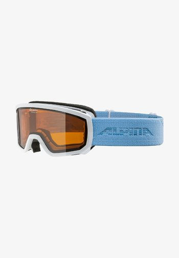 Goggles - white-skyblue