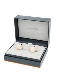 DAVIDOFF - Cufflinks - white - 2