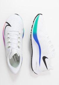 Nike Performance - AIR ZOOM PEGASUS 37 - Neutral running shoes - white/flash crimson/hyper violet - 1