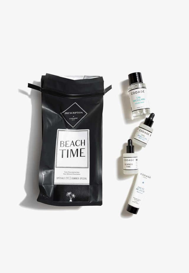 PRESCRIPTION BEACH TIME - Skincare set - neutral