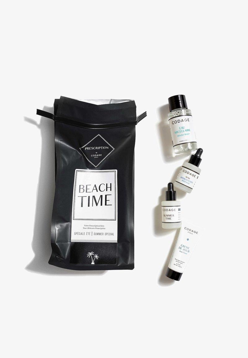 Codage - PRESCRIPTION BEACH TIME - Skincare set - neutral