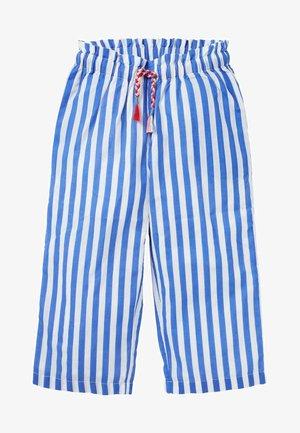 Trousers - elisabethanisches blau/weiß
