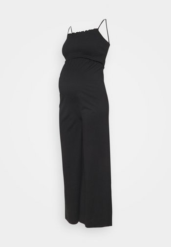 PCMTILY WIDE CROPPED  - Jumpsuit - black