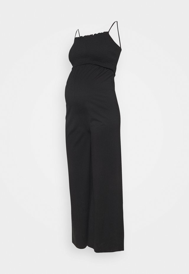 PCMTILY WIDE CROPPED  - Tuta jumpsuit - black