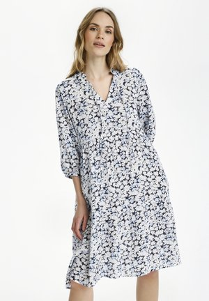 FELIA - Day dress - blue toned daisy print