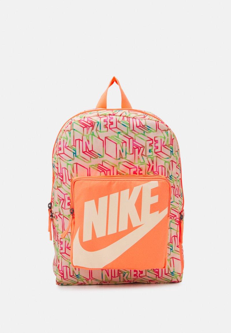 Nike Sportswear - CLASSIC UNISEX - Rucksack - bright mango/crimson tint