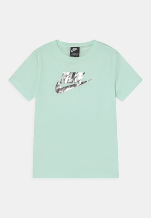 Print T-shirt - barely green