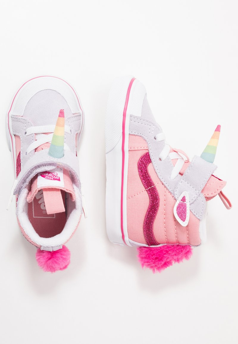 Vans - UNICORN SK8 REISSUE - High-top trainers - pink icing/lavender blue