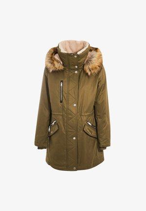 Płaszcz zimowy - vert kaki