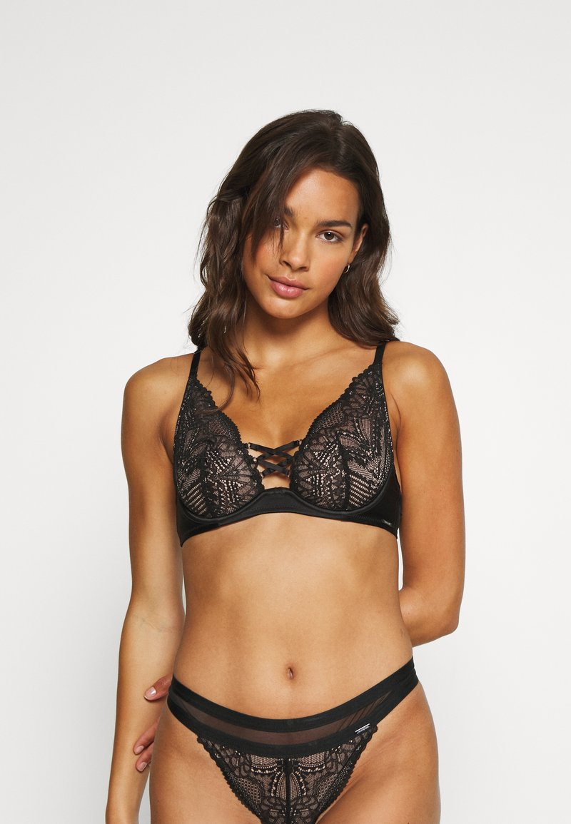 Marks & Spencer London - AUTO HAPEX - Soutien-gorge à armatures - black