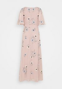 Maya Deluxe - KIMONO FLORAL EMBELLISHED WRAP DRESS - Maxi šaty - frosted pink - 1