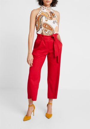 Trousers - tango red