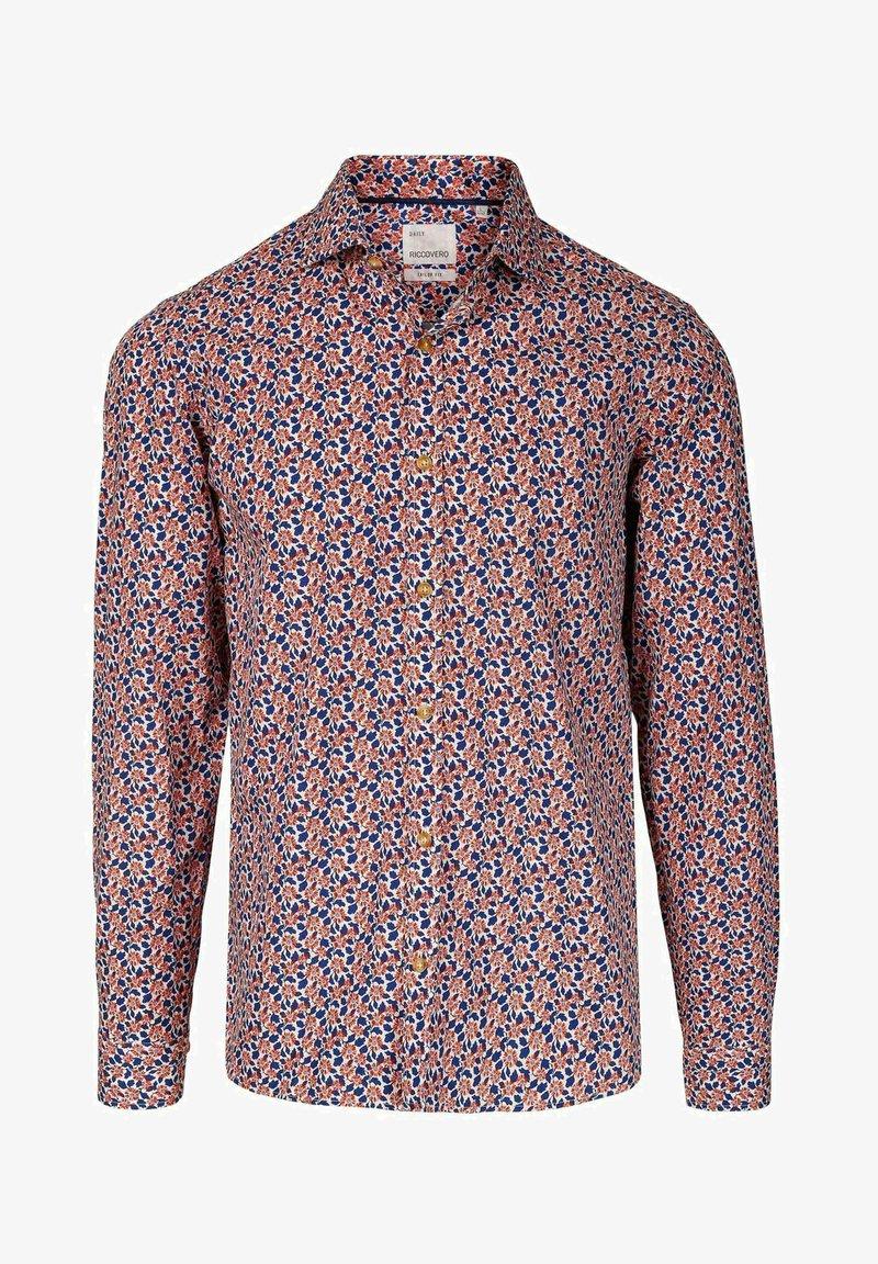 Riccovero - LEO DAILY TAILOR FIT - Skjorte - flower print
