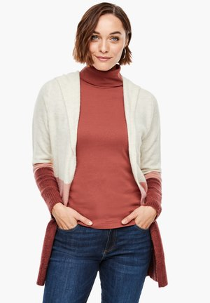 Cardigan - beige stripes