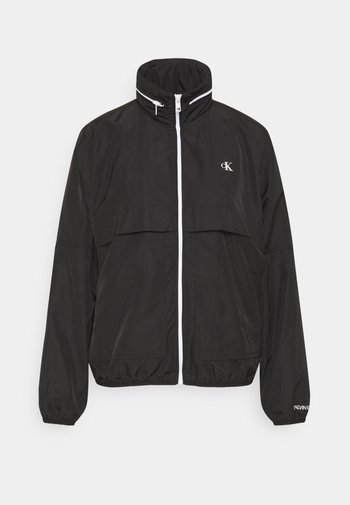 CONTRAST ZIP WINDBREAKER