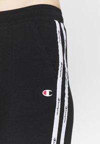 Champion - RIB CUFF PANTS - Spodnie treningowe - black - 5