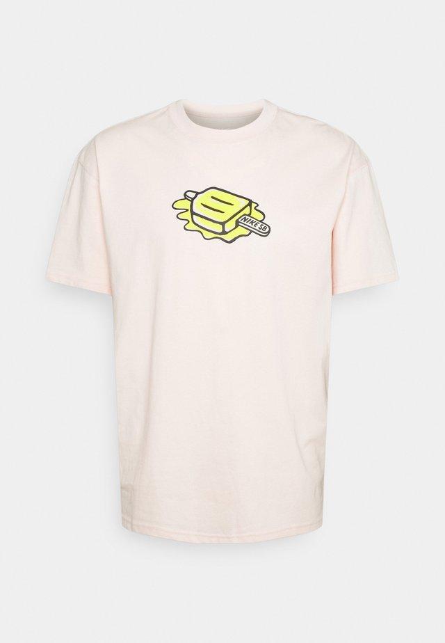 TEE POPSICLE UNISEX - T-shirts med print - orange pearl