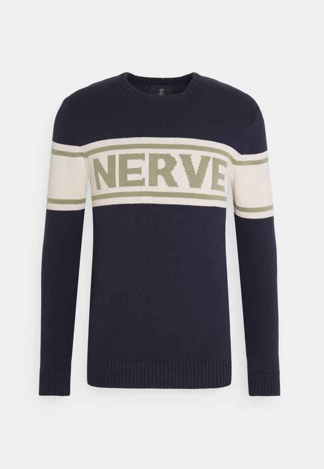 NENICHOLAS  - Strikpullover /Striktrøjer - navy blazer