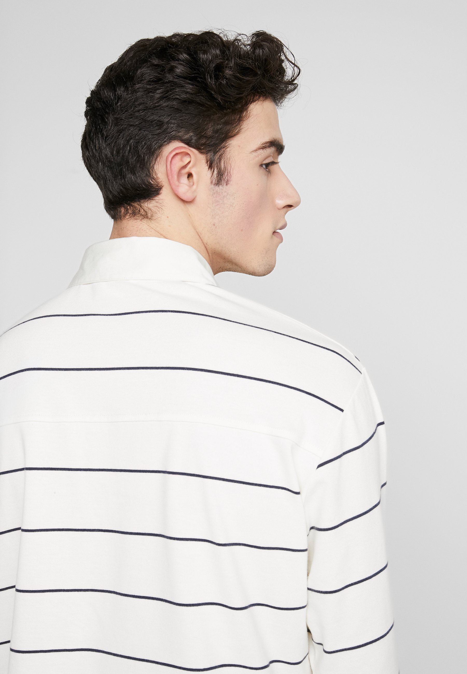Wood Wood BECK LONG SLEEVE - T-shirt à manches longues - off white