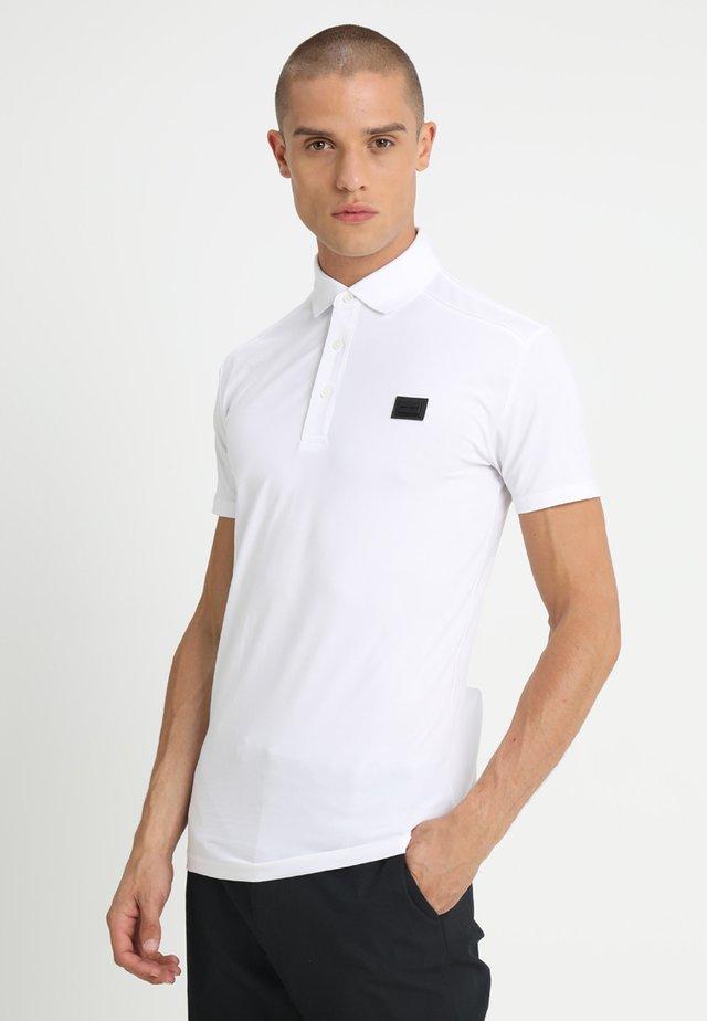 SPORT PLAQUETTE - Poloshirt - bianco