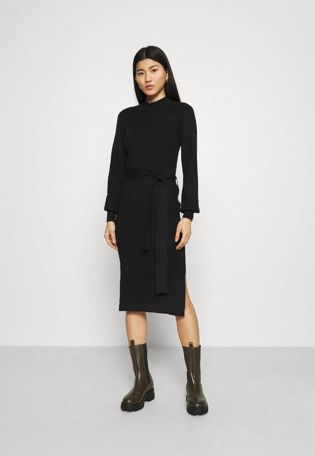 MALLORY LIKE DRESS - Sukienka dzianinowa - black