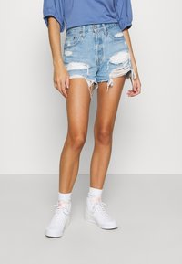 Levi's® - 501® ORIGINAL - Denim shorts - luxor anubis - 0
