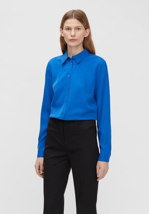 Button-down blouse - egyptian blue