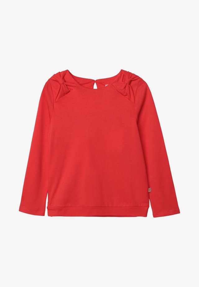 T-shirt à manches longues - minium