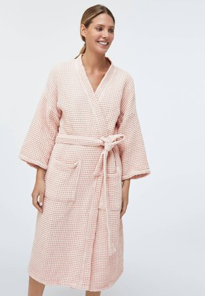 WAFFLE  - Dressing gown - rose