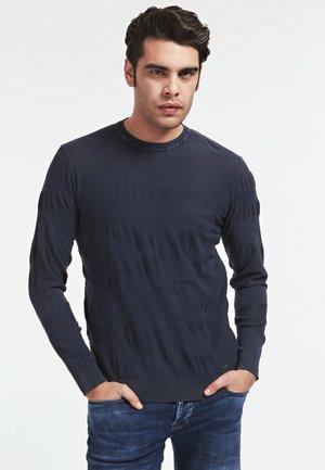 Pullover - bleu foncé
