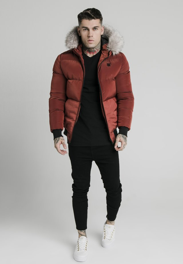 DISTANCE JACKET - Winter jacket - red
